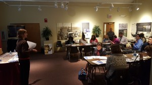 workshop at Black History Museum 9_15