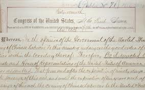 1882 Exclusion Act close up