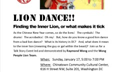 Talk Story Lion Dance in DC 2016