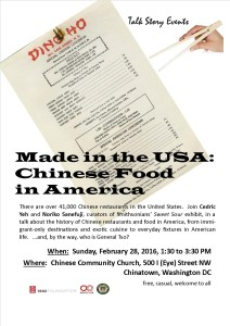 Talk Story Chinese Food in America